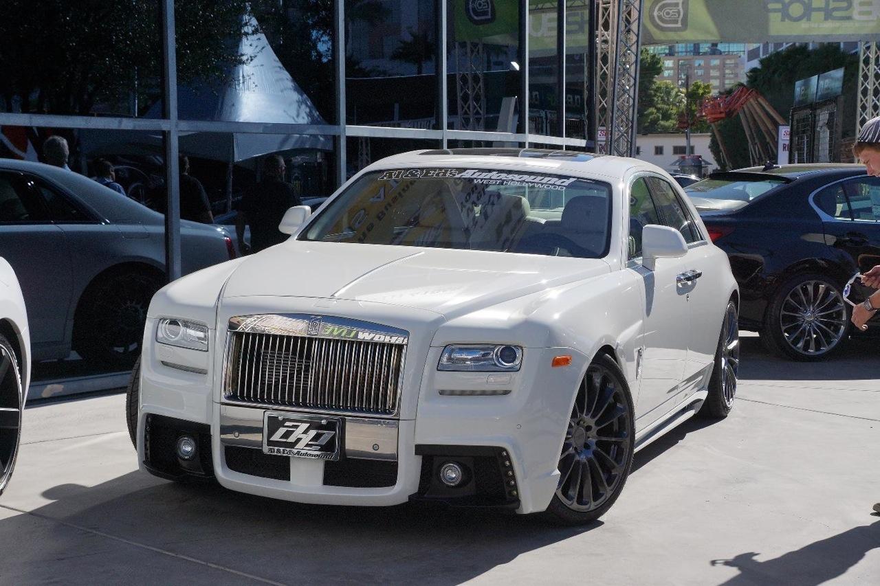 Rolls Royce Car White 2014