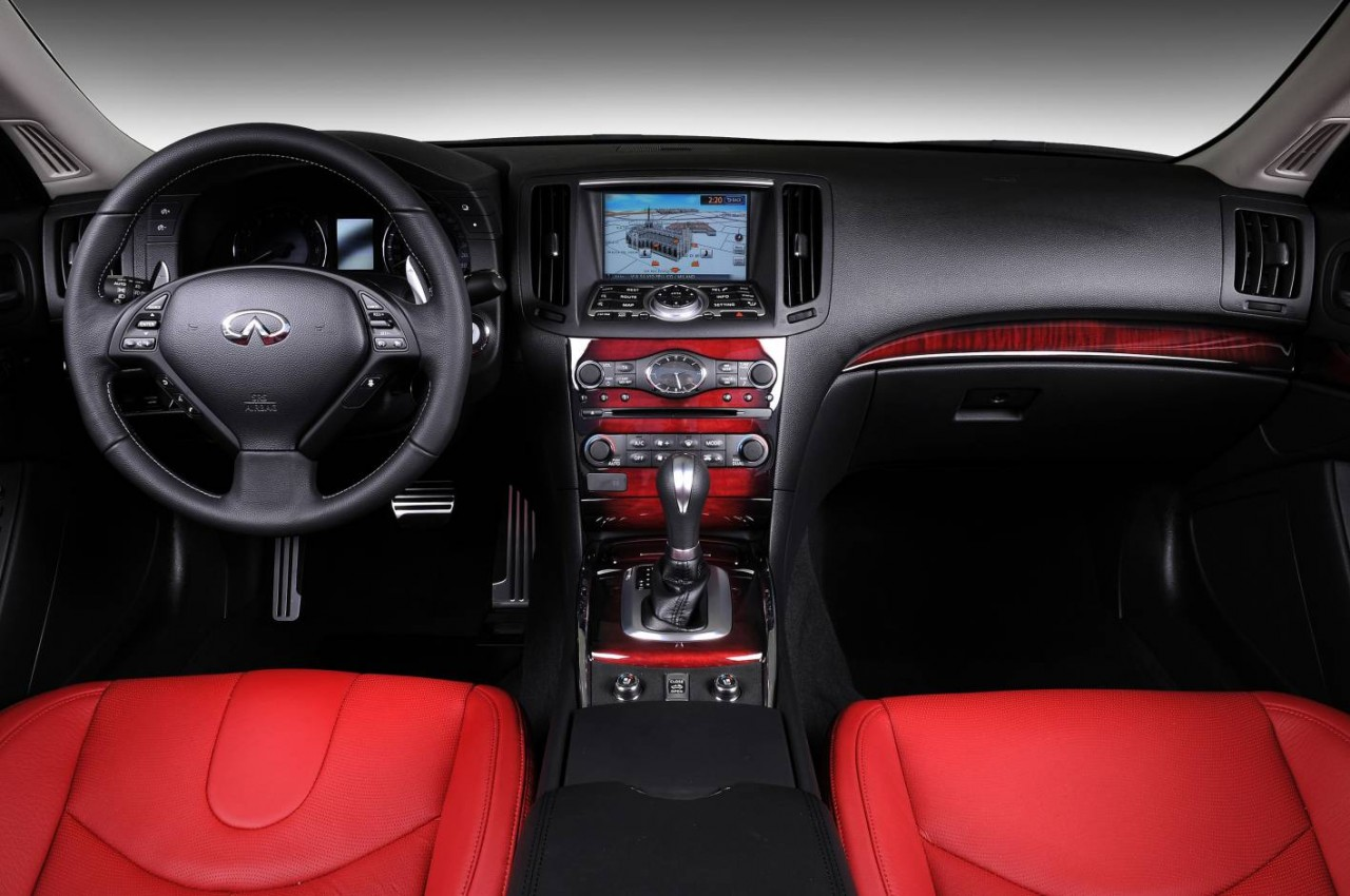 2009 Infiniti G37 - It has this color interior with the wood, but ...