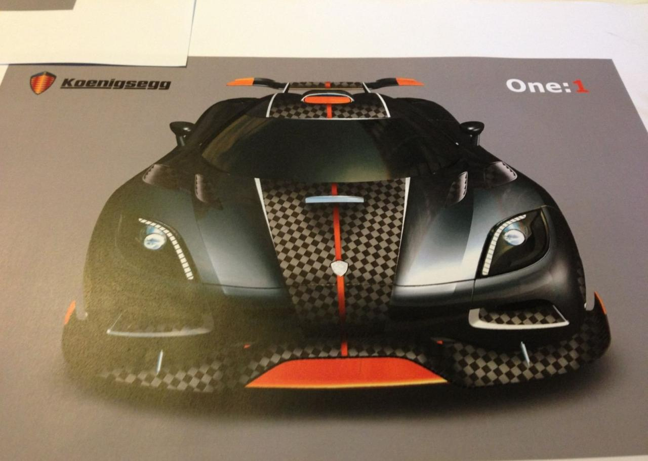 Koenigsegg Agera R One 1 Special Order Previewed