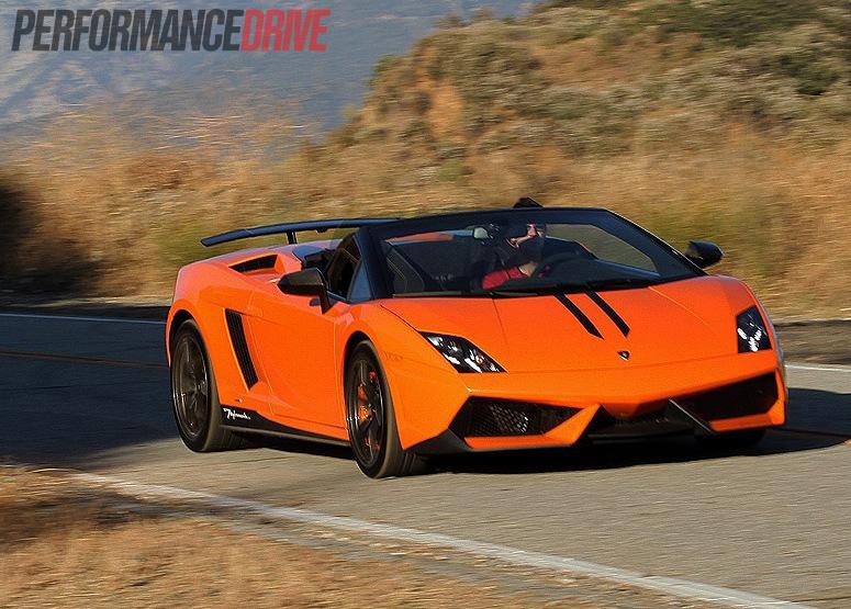 Lamborghini Gallardo LP 570 4 Spyder Performante Orange