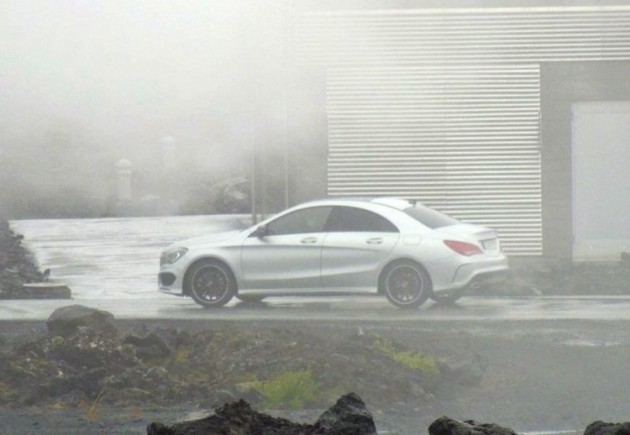 Mercedes benz cla class to debut at detroit show for Mercedes benz cla 2012