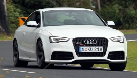 2012 Audi RS 5 driving