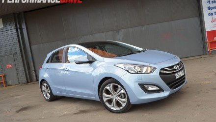 2012 Hyundai i30 Premium diesel – front side