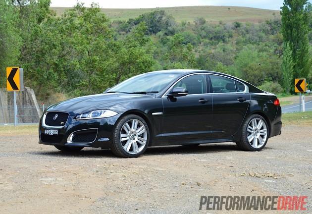 Jaguar XFR Review Video PerformanceDrive - 2012 jaguar xfr review