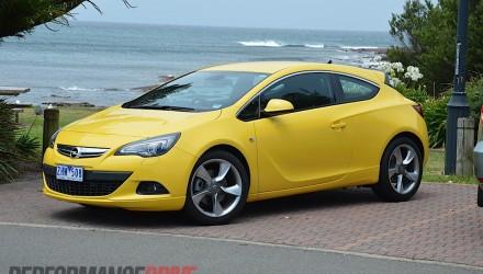 2012 Opel Astra GTC Sport front side