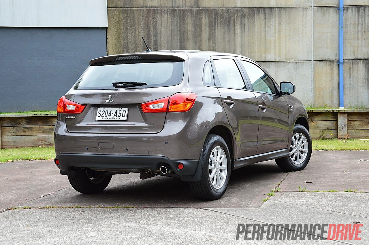 2013 mitsubishi asx 2wd review performancedrive. Black Bedroom Furniture Sets. Home Design Ideas
