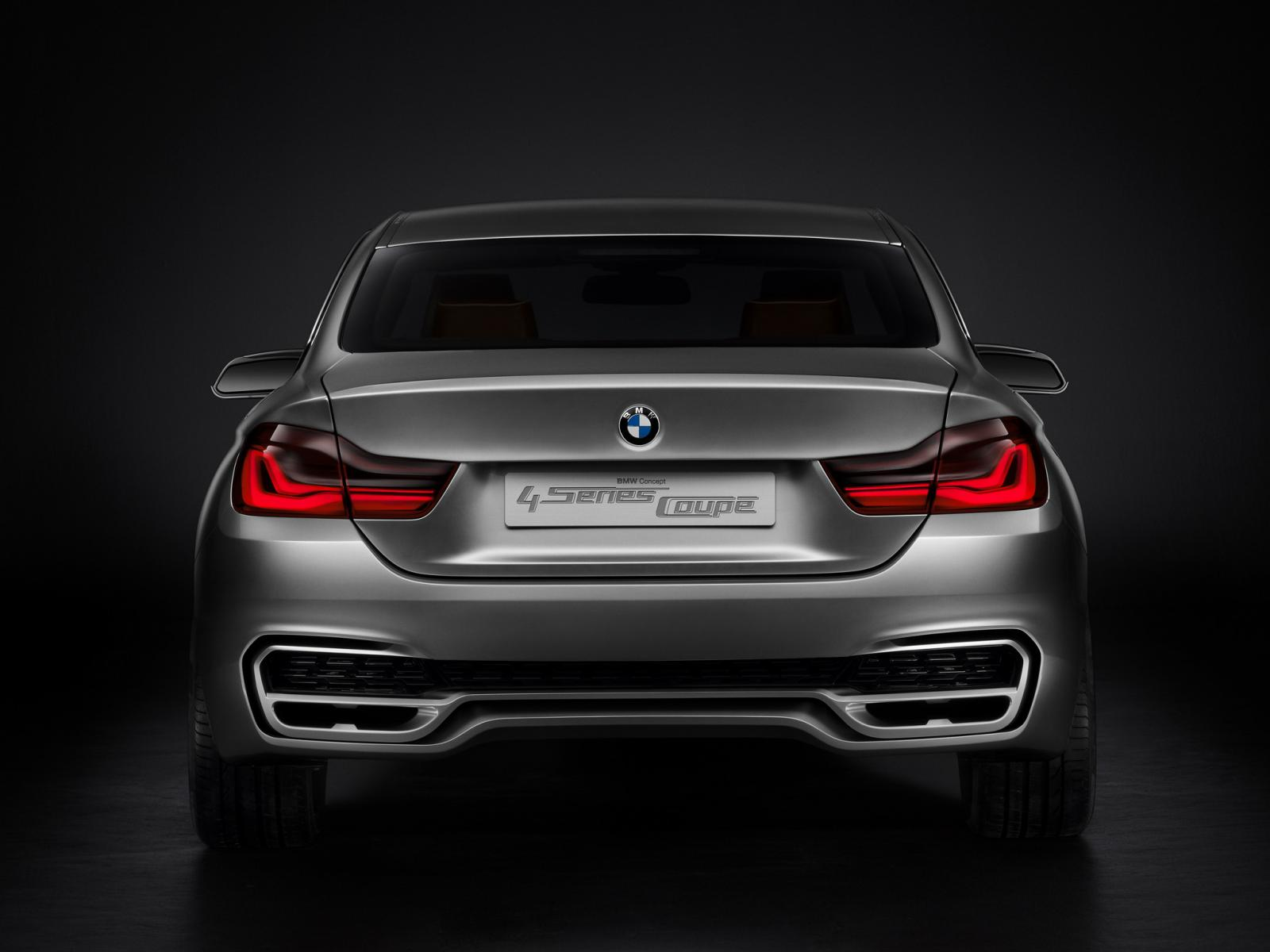 BMW Series Coupe Concept Rear End - 2012 bmw 4 series