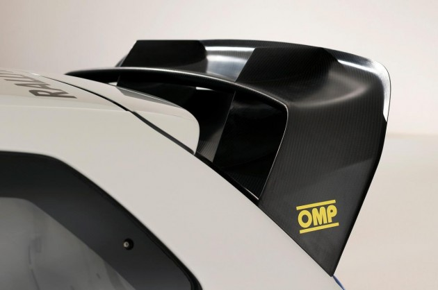 Volkswagen Polo Wrc Car Rear Spoiler