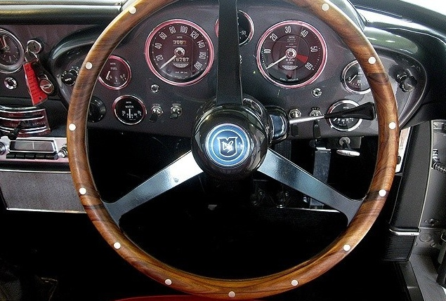 1964 Aston Martin Db5 For Sale Steering Wheel