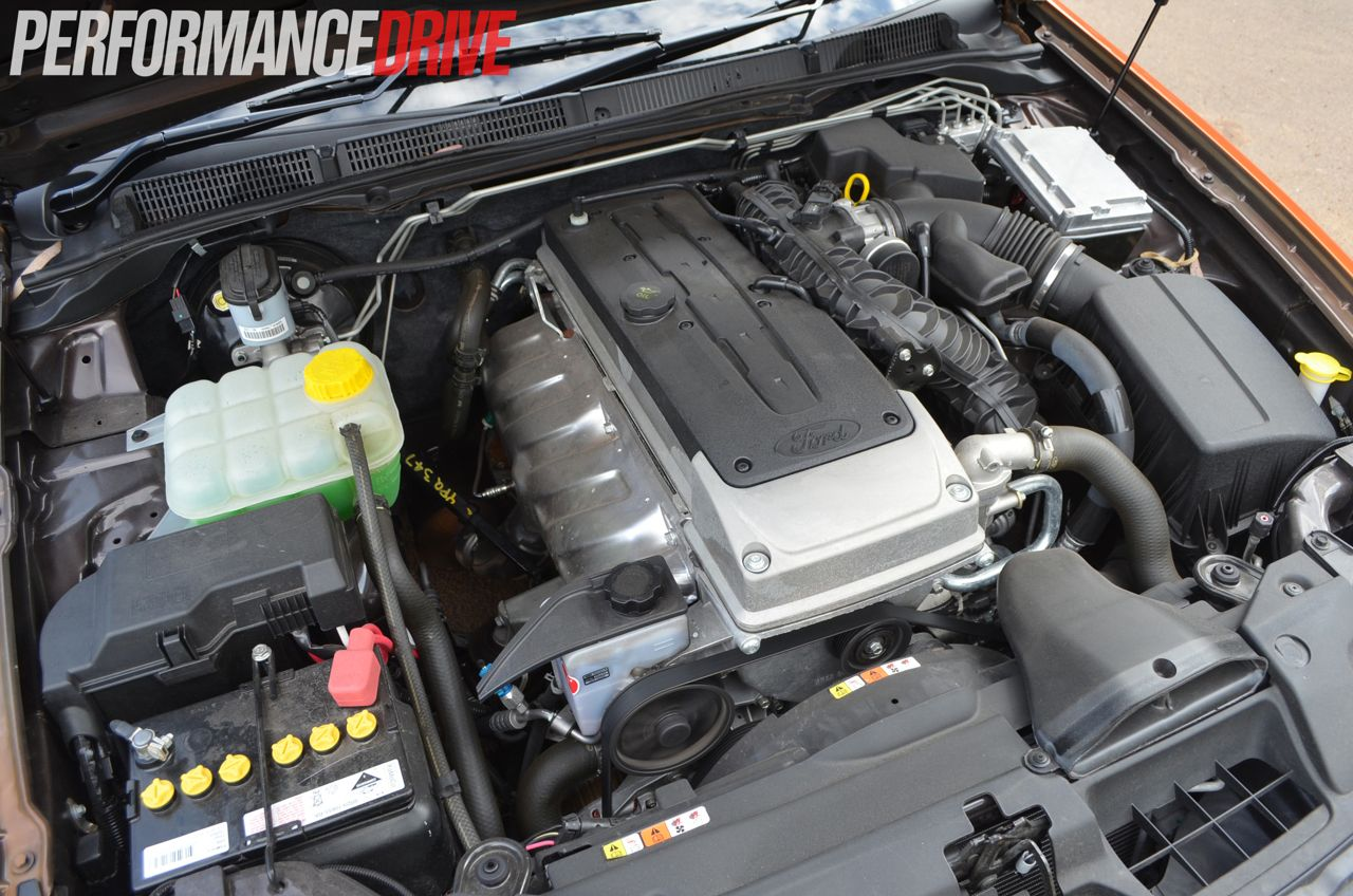 2012 Ford Falcon XR6 MKII 4.0 litre DOHC six cylinder engine