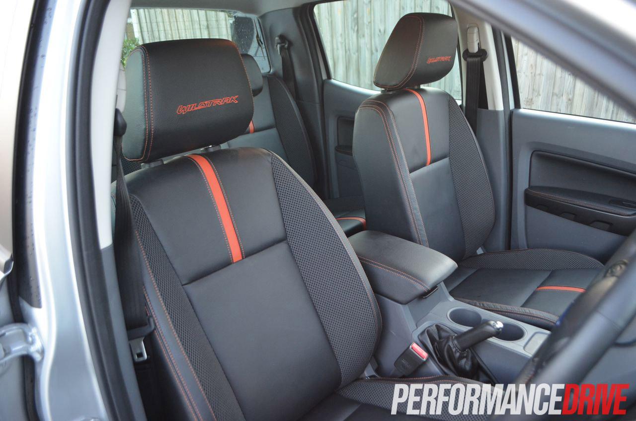 2012 Ford Ranger Wildtrak Front Seats