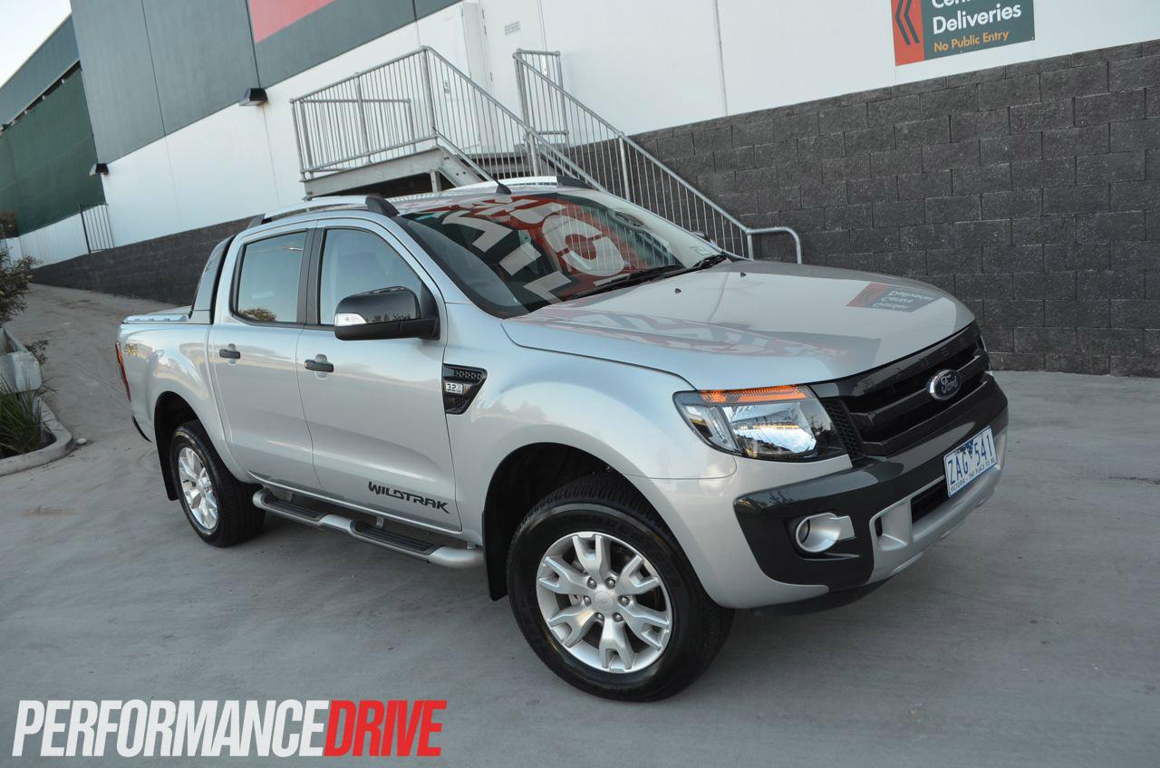 2012 Ford Ranger Wildtrak Front Side