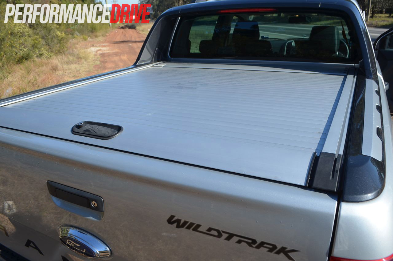 2012 Ford Ranger Wildtrak Lockable Tray