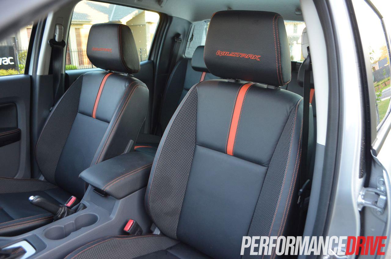 2012 Ford Ranger Wildtrak Passenger Front Seat