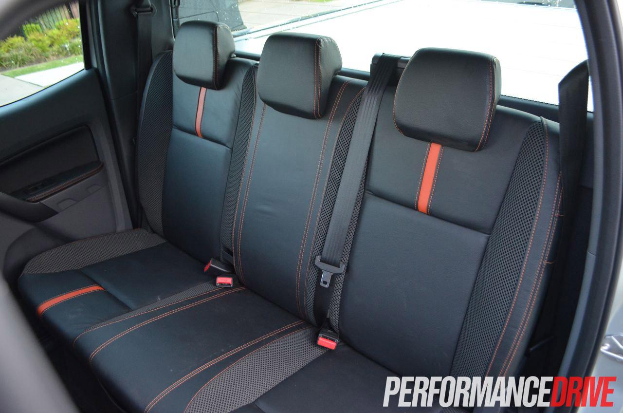 2012 Ford Ranger Wildtrak Rear Seat