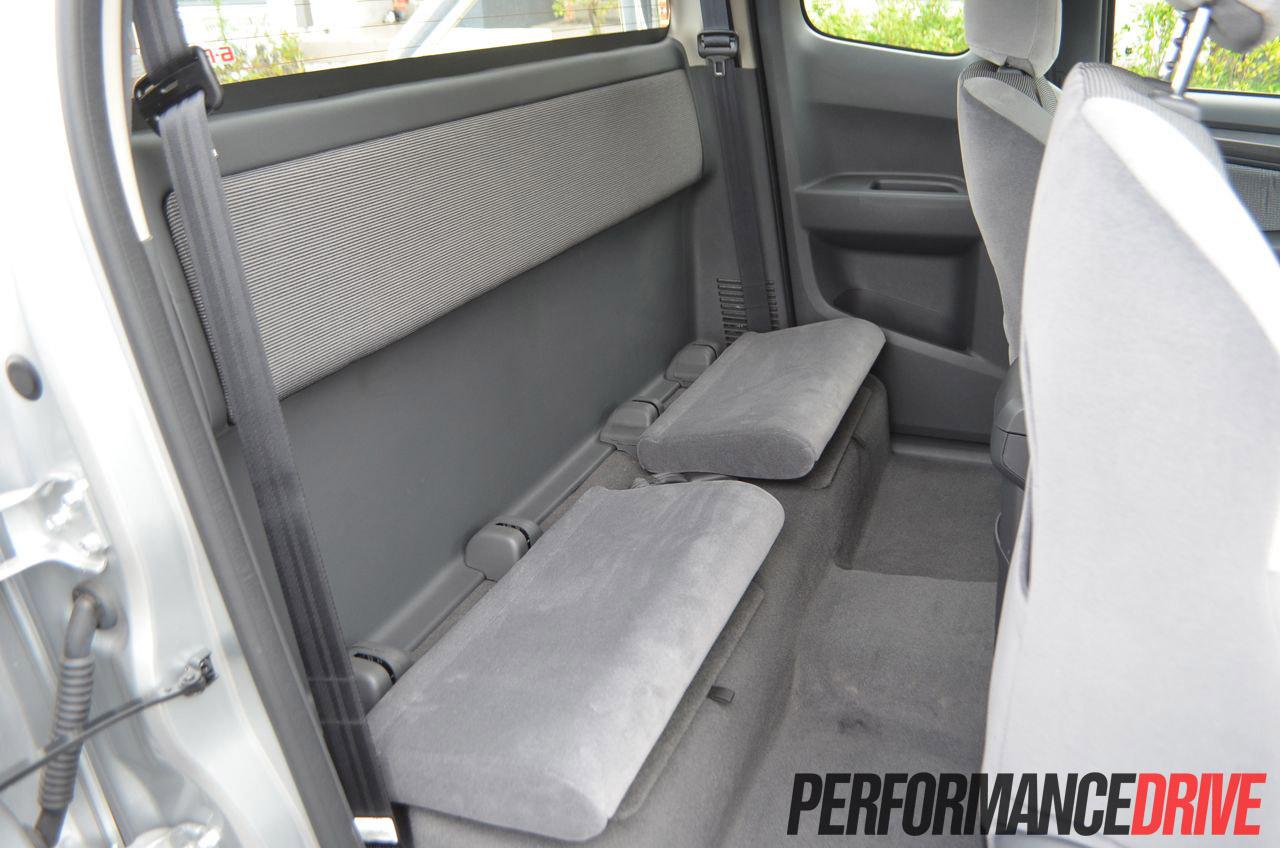 2012 Holden Colorado Ltz Rear Seat
