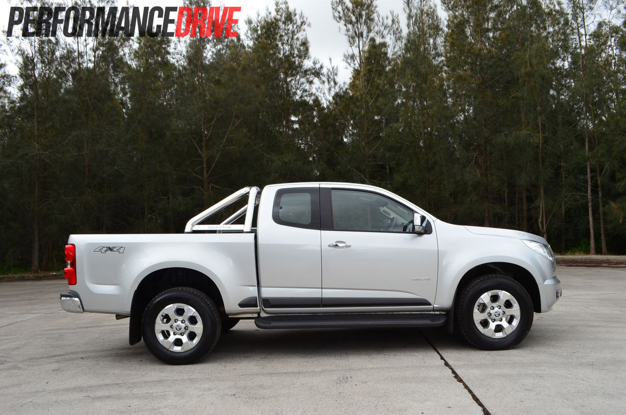 2012 Holden Colorado Ltz Side Profile