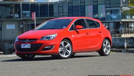 2012 Opel Astra Sport five-door