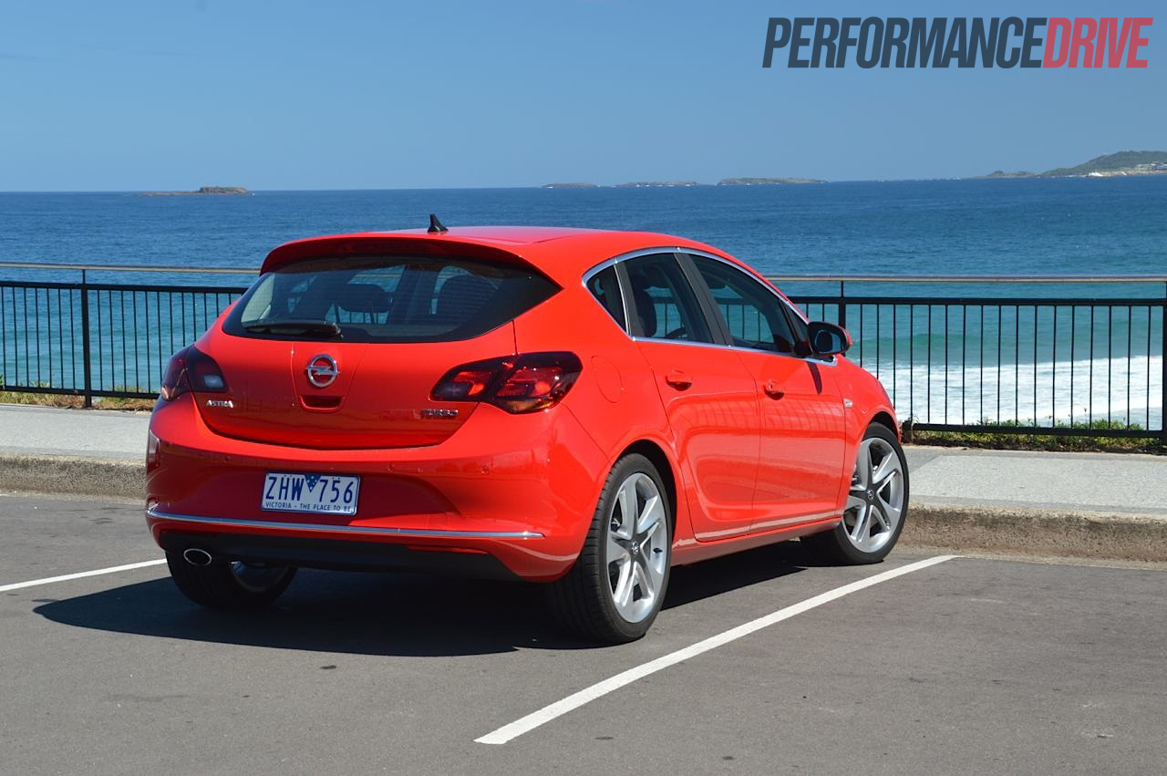 Lovely 2012 Opel Astra Sport Rear