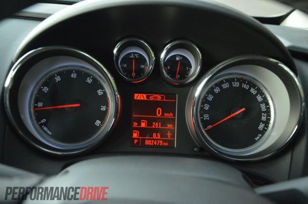 2012 Opel Astra Sport Speedo Instrument Cluster
