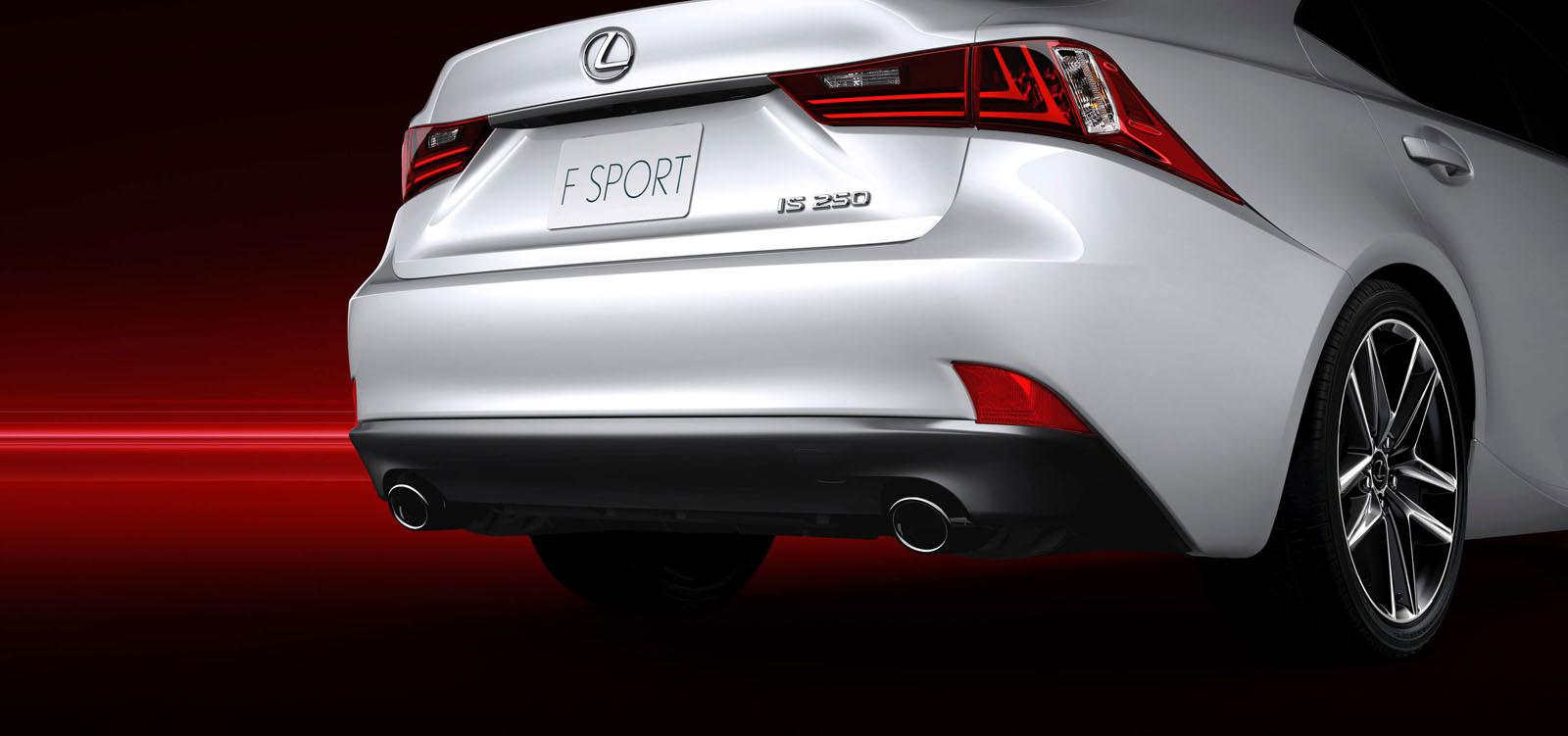 2014 lexus is f sport exhaust. Black Bedroom Furniture Sets. Home Design Ideas