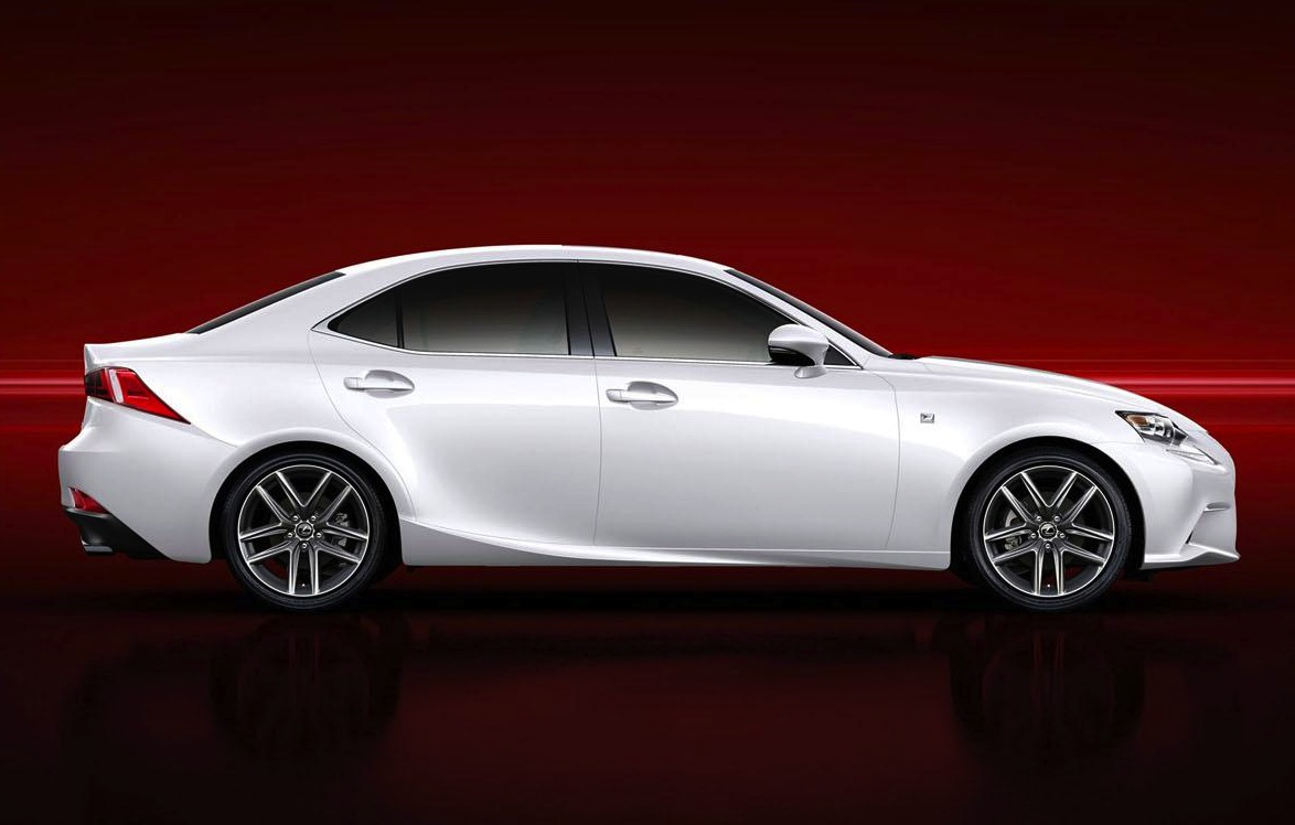 2014 lexus is 250 f sport unveiled performancedrive. Black Bedroom Furniture Sets. Home Design Ideas