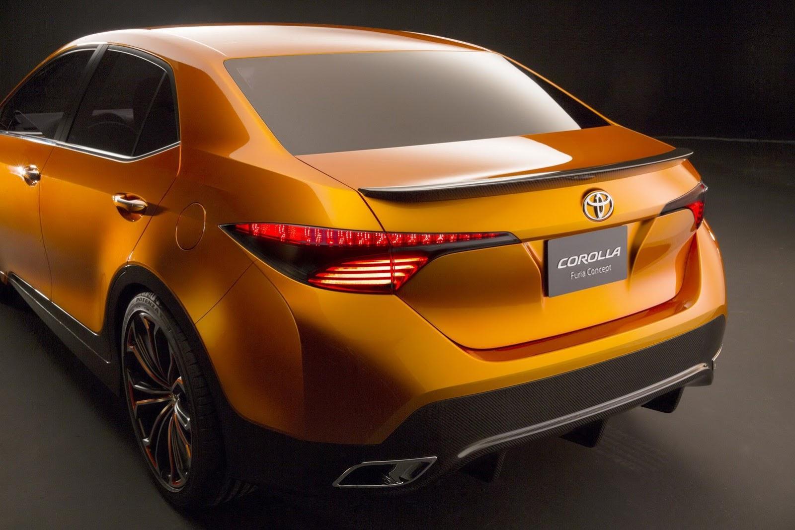 Toyota Corolla Furia concept rear diffuser