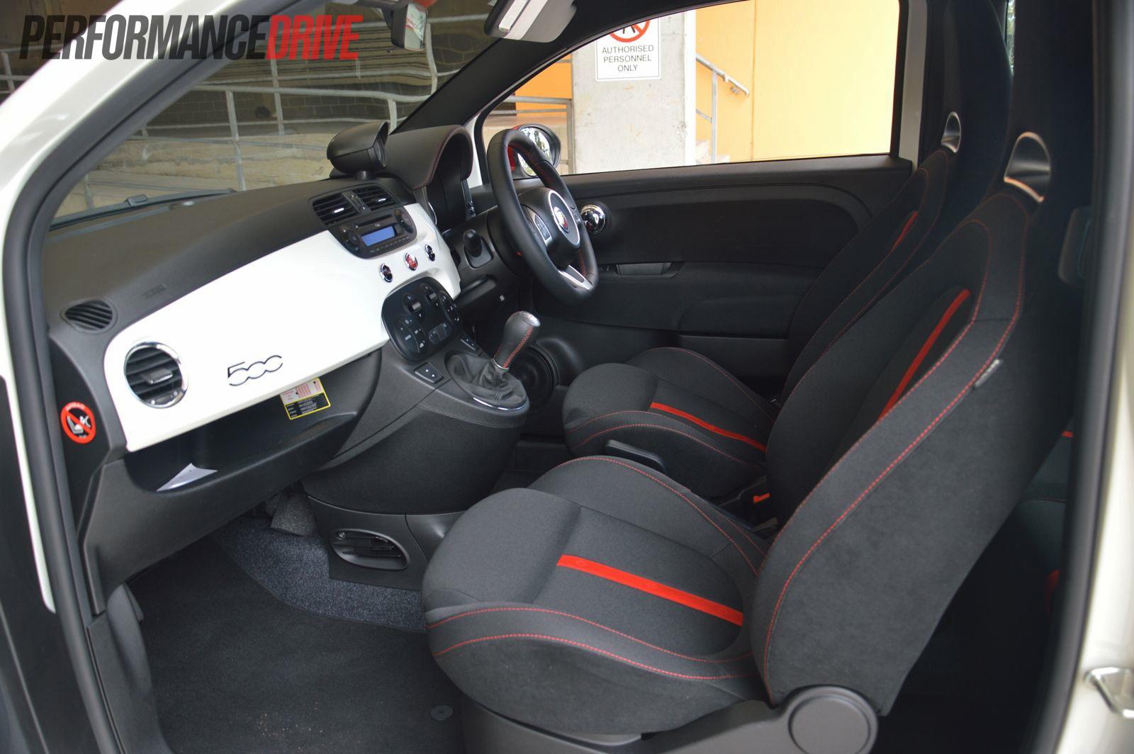 Fiat Abarth Esseesse Interior
