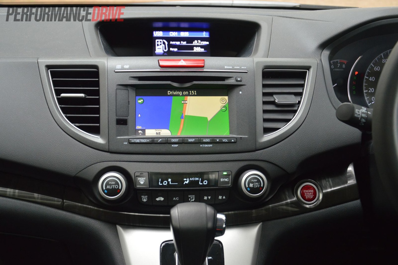 2013 Honda Cr V Vti L Dash