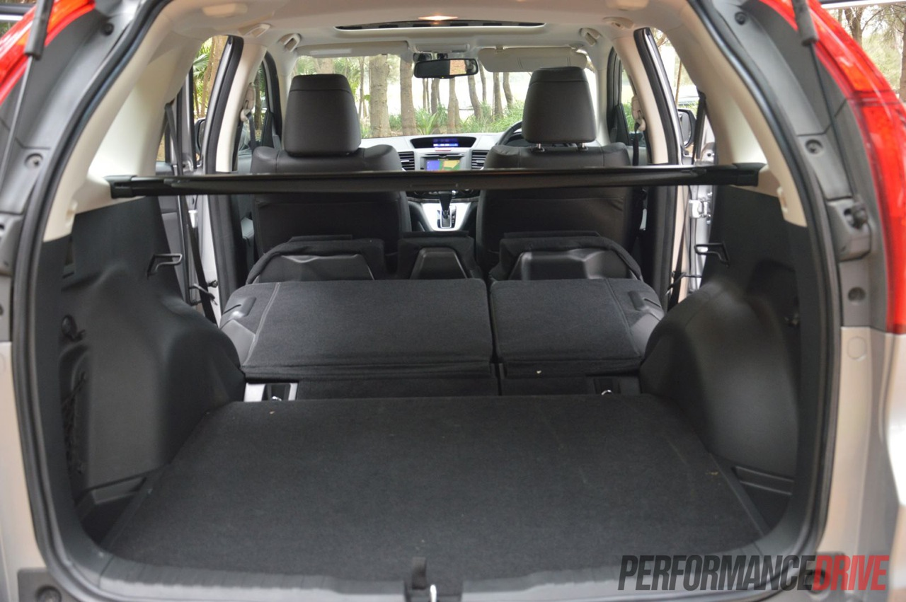 crv trunk space autos post. Black Bedroom Furniture Sets. Home Design Ideas