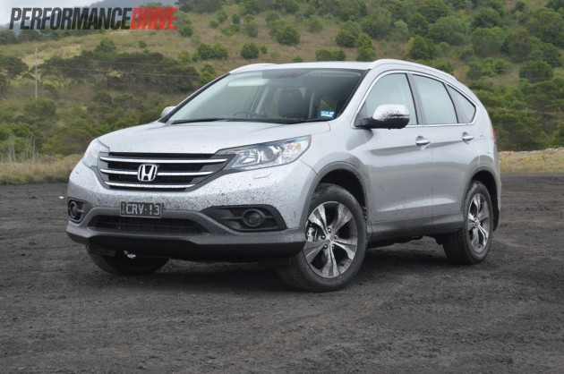 2013 honda cr v vti l review performancedrive for Honda crv competitors