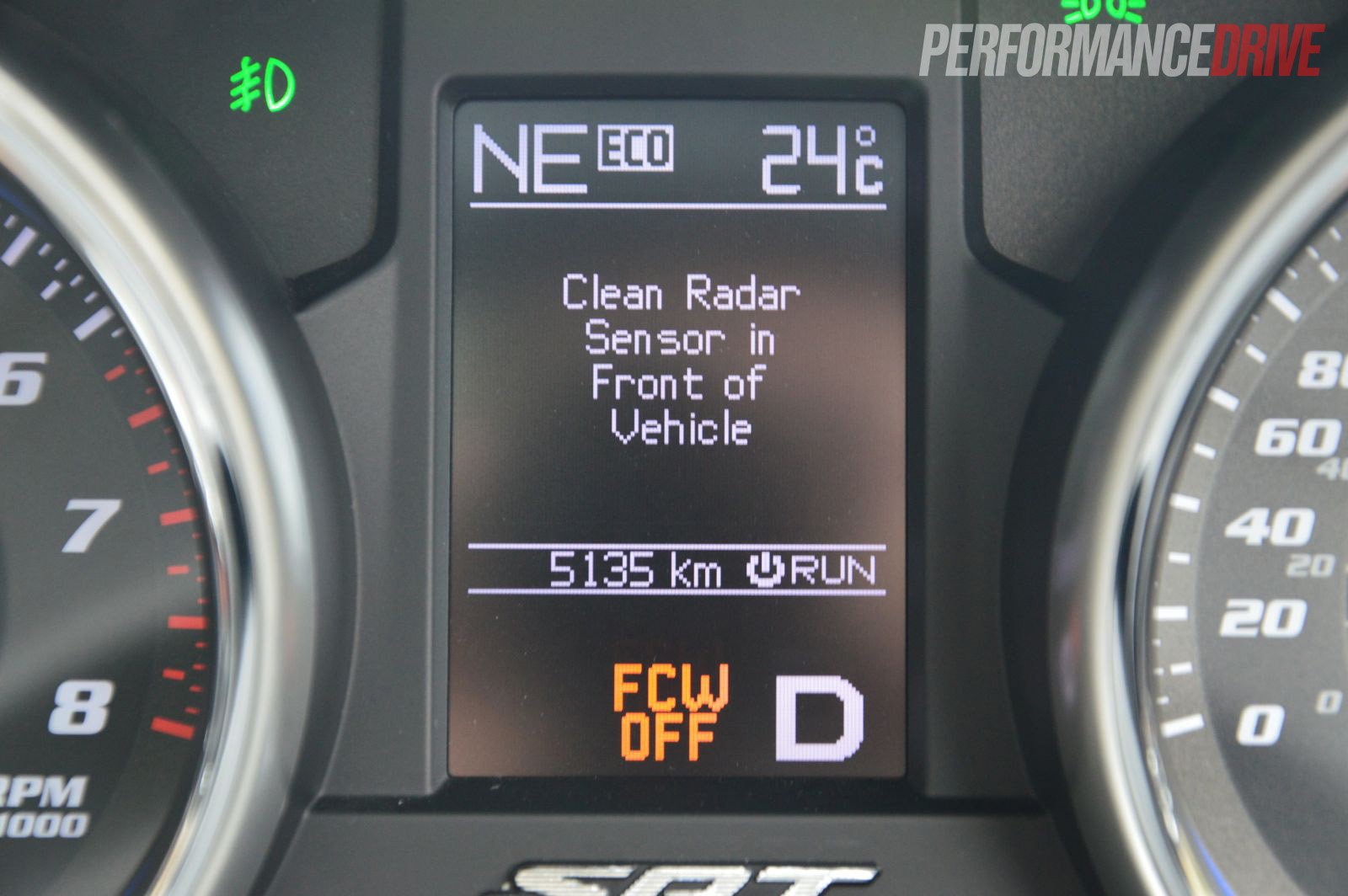 2013 Jeep Grand Cherokee Srt8 Dirty Radar Sensor