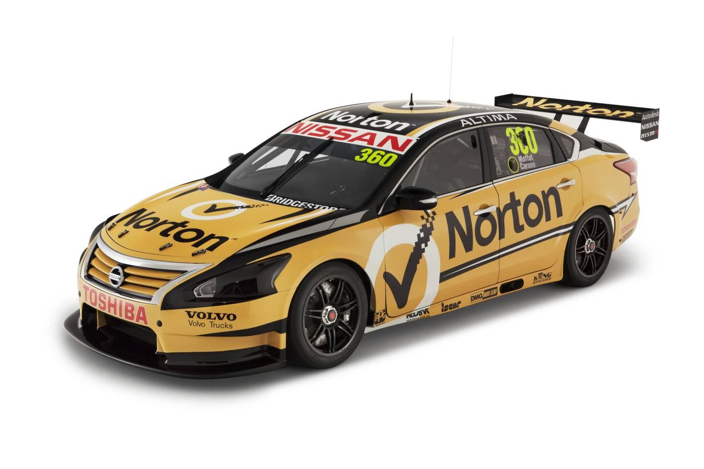 2013 Norton Nissan Altima V8 Supercar Front