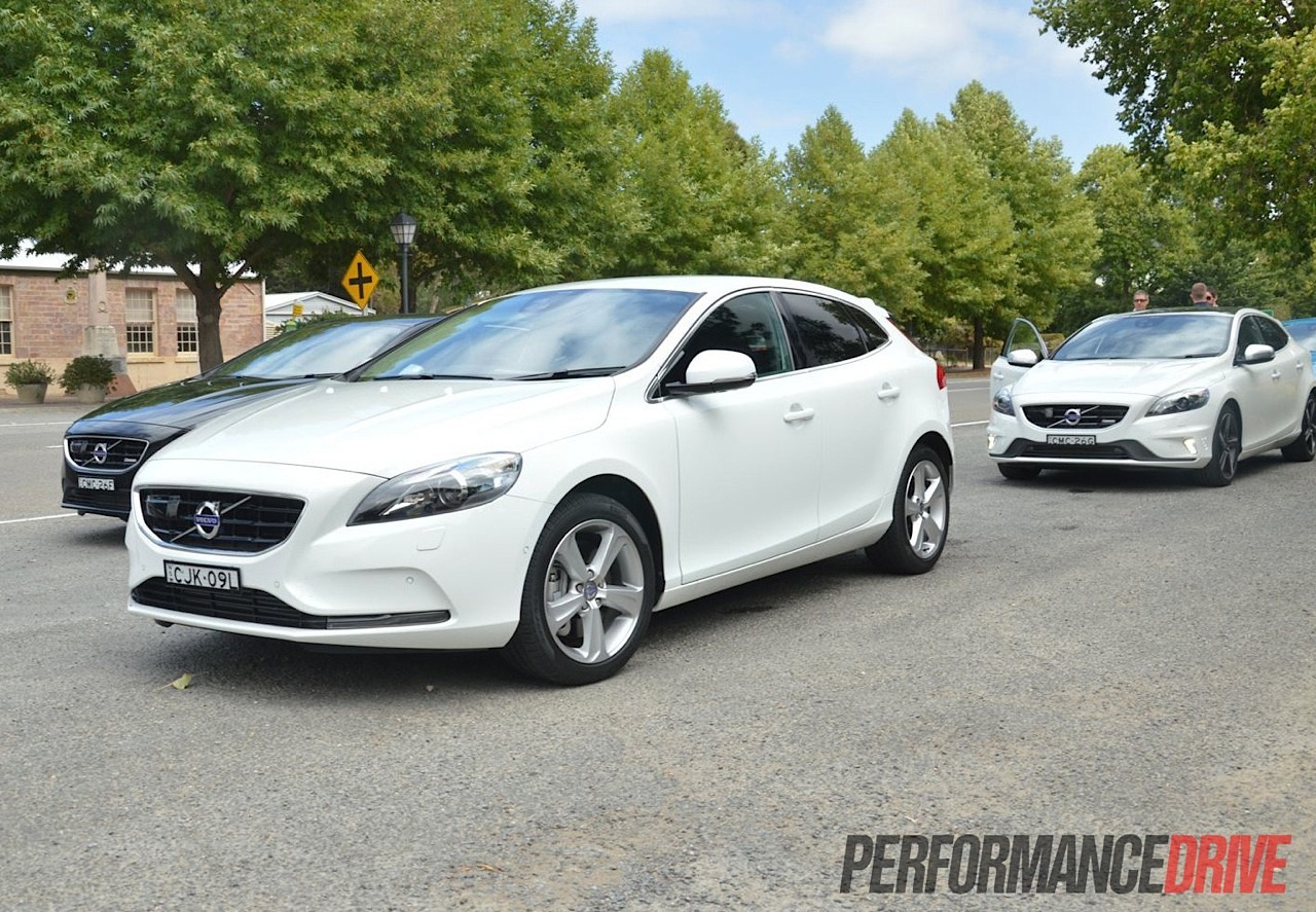 2013 volvo v40 review australian launch performancedrive. Black Bedroom Furniture Sets. Home Design Ideas