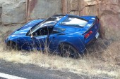 2014 Chevrolet Corvette Stringray crash, already