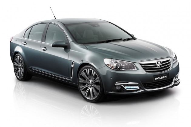2014 Holden VF Commodore unveiled