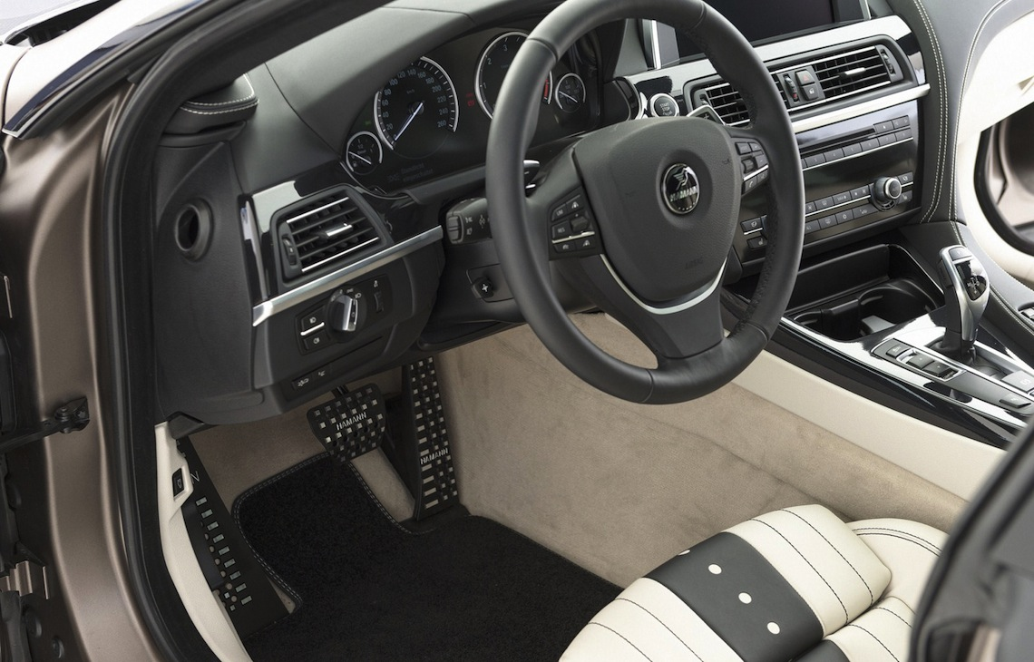 Hamann bmw 6 series gran coupe upgrade kit now available performancedrive - Bmw 650i gran coupe interior ...