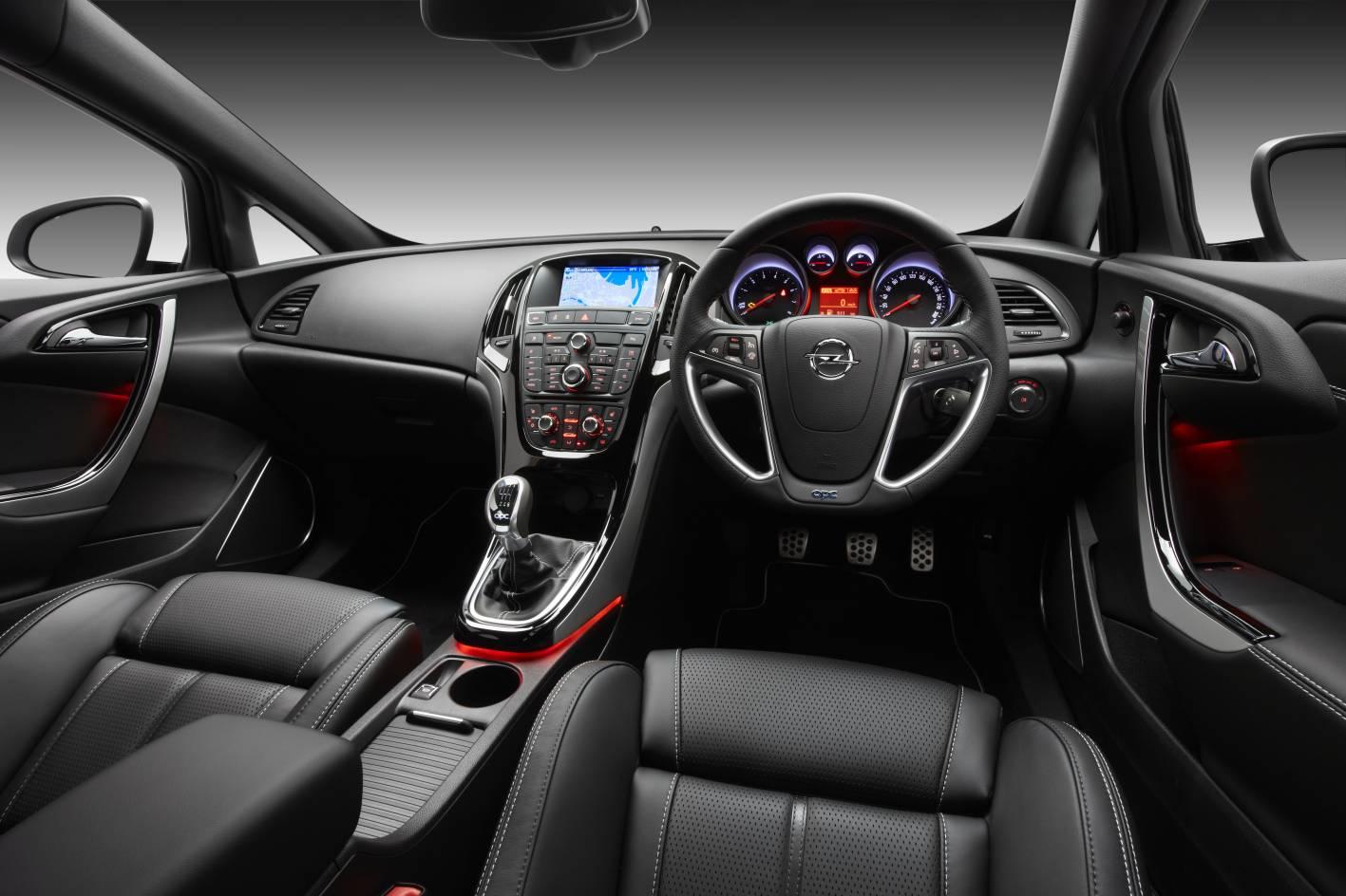 Opel astra opc interior for Interior opel corsa 2017