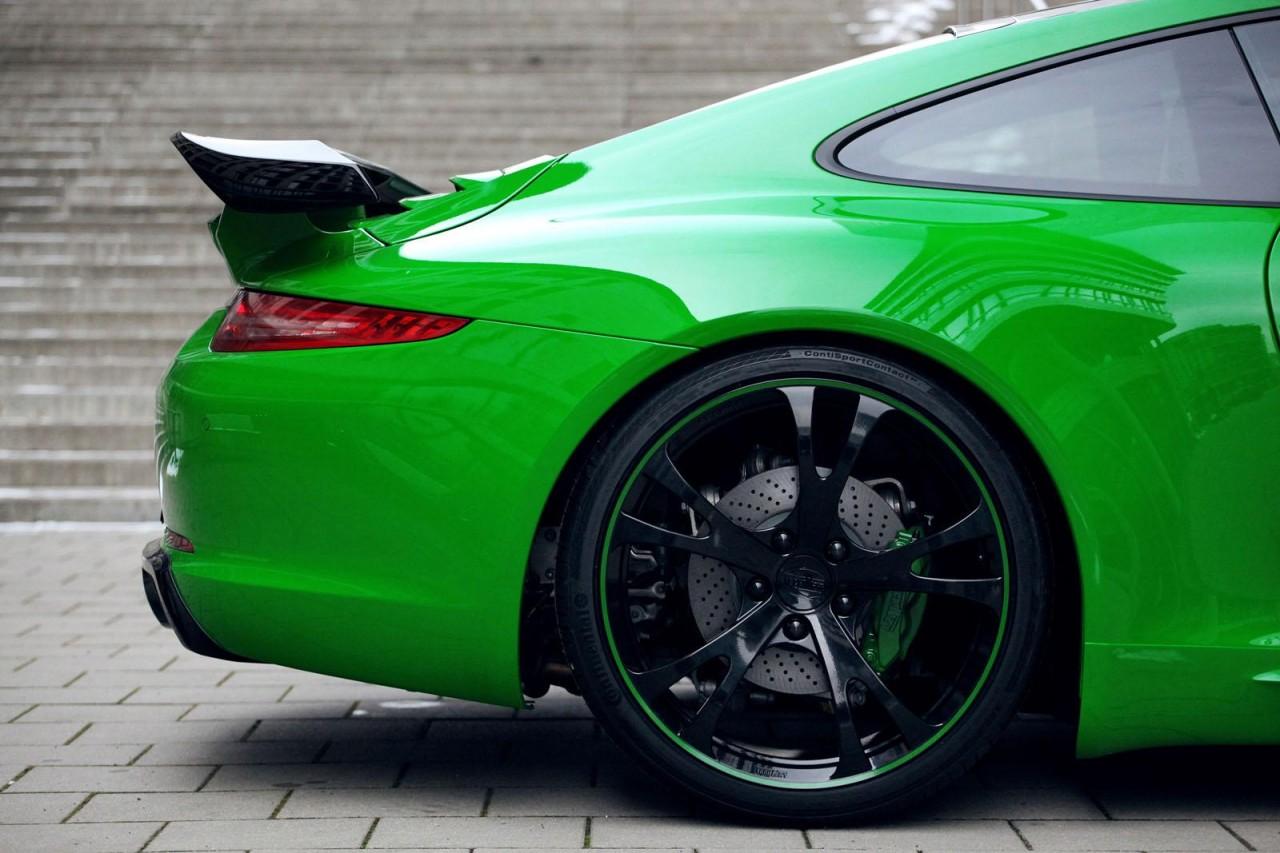 Techart 991 Porsche 911 Carrera 4s Styling Kit Revealed