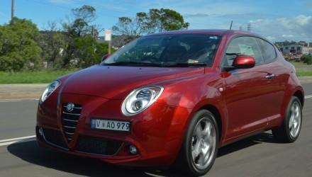 2013 Alfa Romeo MiTo driving