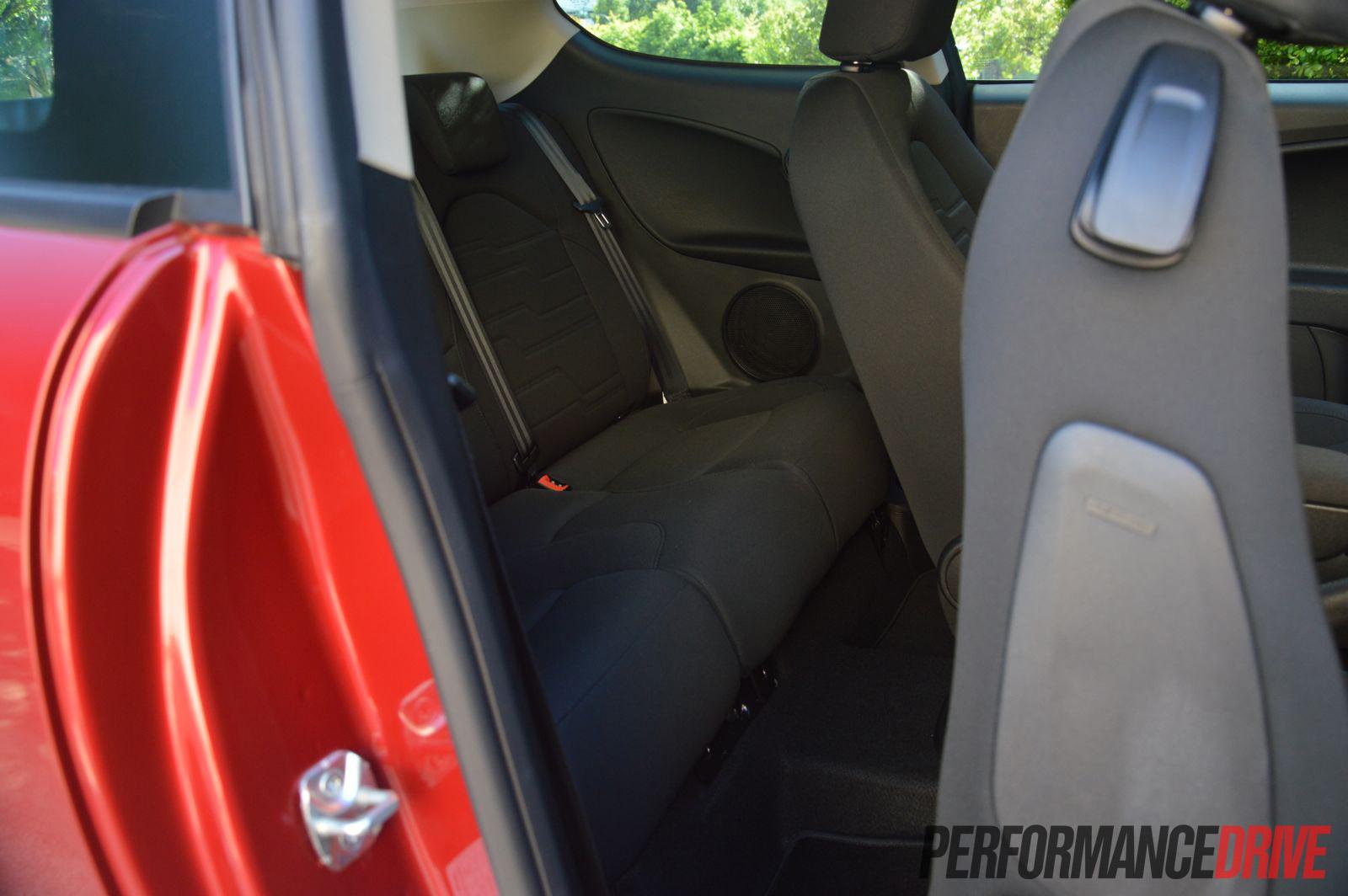 2013 Alfa Romeo Mito Rear Seats