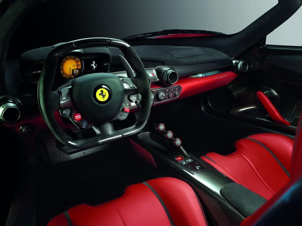 2013 Ferrari LaFerrari U2013 New Enzo F70 Interior