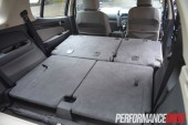 2013 Holden Colorado 7 LTZ all seats folded space