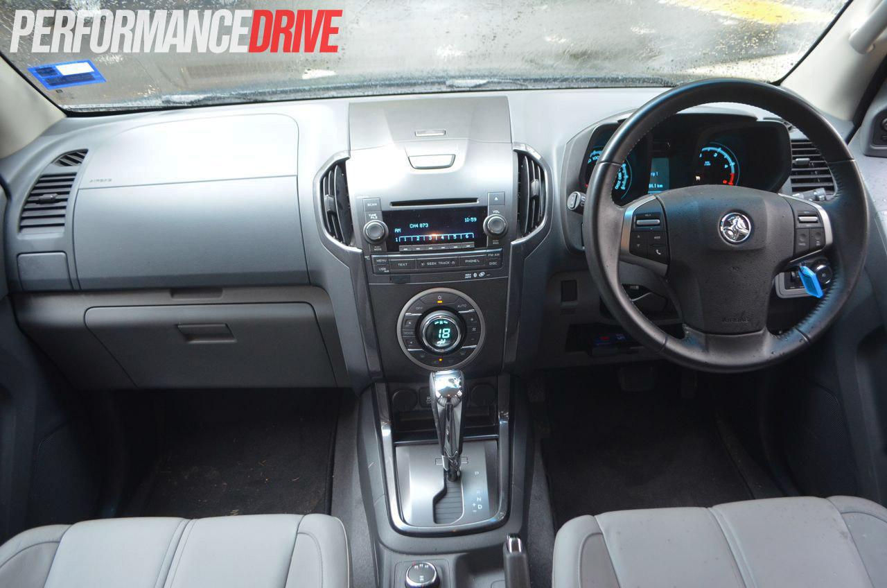 2013 Holden Colorado 7 Ltz Review Performancedrive