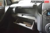 2013 Holden Colorado 7 LTZ glove box
