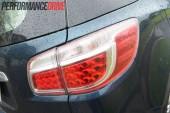 2013 Holden Colorado 7 LTZ rear light