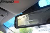 2013 Holden Colorado 7 LTZ reverse camera screen