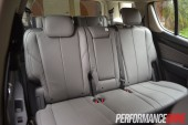2013 Holden Colorado 7 LTZ second row seats