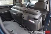 2013 Holden Colorado 7 LTZ second row seats folded