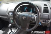 2013 Holden Colorado 7 LTZ steering wheel